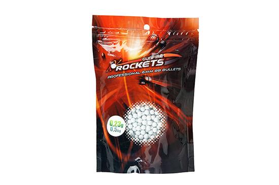 Rockets Professional BBs 0,23g - 2.150 pièces - blanc