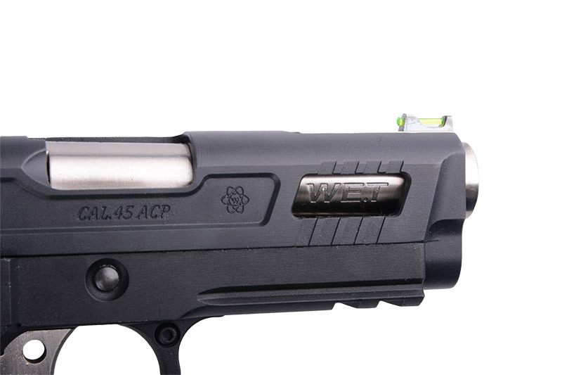 WE Tech Hi-Capa 3.8 Force Velociraptor GBB - 0.70 Joule - BK