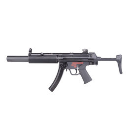 WE Tech MP5 SD3 GBB Apache Submachine Gun - 1.70 Joule - BK