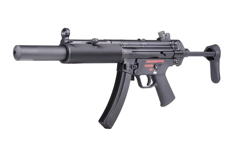 WE Tech Mitraillette Apache MP5 SD3 GBB Apache - 1,70 Joule - BK