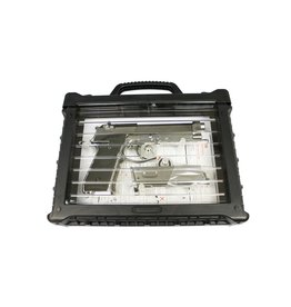 WE Tech M92 GBB V.2 with LED Pistol Case - 0.90 Joule - Silver