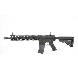 E&L ELAR SopMod II AR-15 Platinum AEG 1.44 Joule - BK