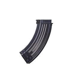 E&L AK47 Mid-Cap Steel Magazine - BK