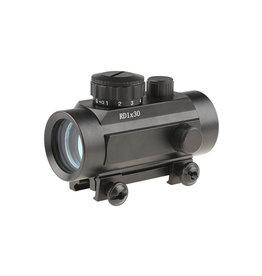 ACM Tactical Tasco 1x30 R/G Dot Sight Weaver  - BK
