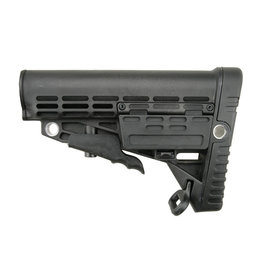 Well AR-15 polymer stock M4/M16 - BK