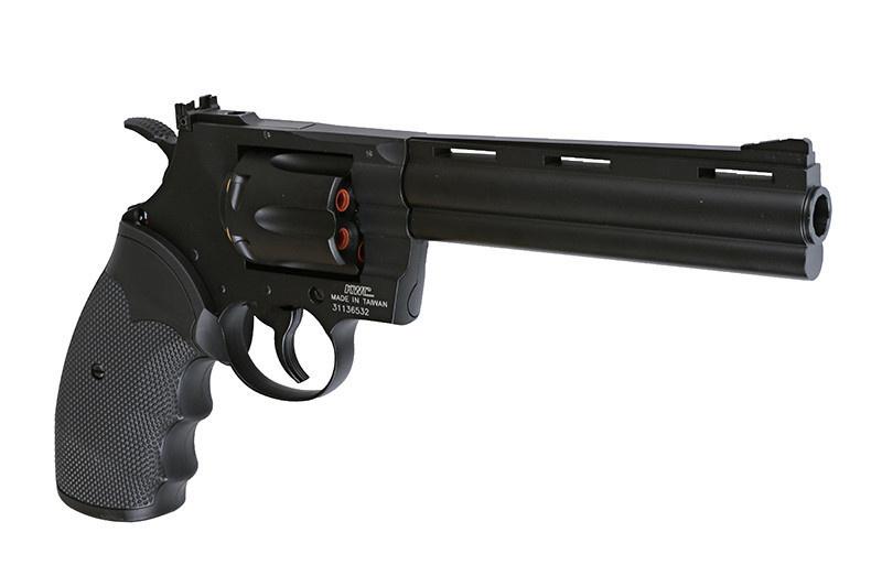 KWC .357 Magnum 6 inch Co2 Revolver 2,30 Joule - BK