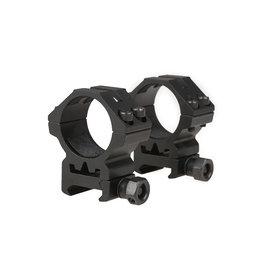 Theta Optics 2 x 30mm ZF Picatinny Low Mount - BK
