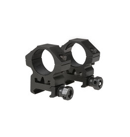 Theta Optics 2 x 25mm ZF Picatinny Low Mount - BK