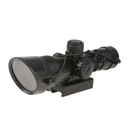 Theta Optics 2.5-10x40 CQB lunette de visée Weaver - BK