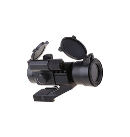 Theta Optics Reflex Sight Weaver Battle II with Laser - BK