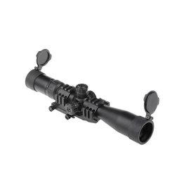 Theta Optics Lunette de tir 3-9x40 Weaver - BK