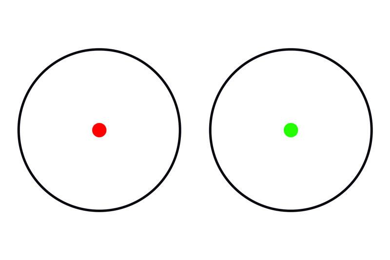 Theta Optics Reflex Sight Battle Weaver - TAN