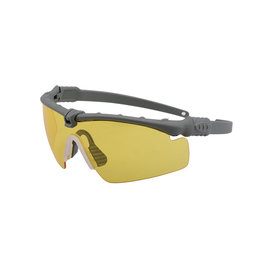 Ultimate Tactical Shooting Glasses - BK / Yellow Lens