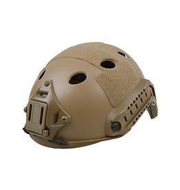 Ultimate Tactical Einsatzhelm Typ X-Shield FAST PJ - TAN