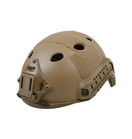 Ultimate Tactical Helmet type X-Shield FAST PJ - TAN