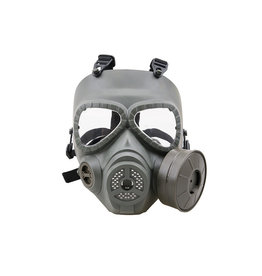 Ultimate Tactical Taktische ABC Gasmaske mit Ventilator - OD