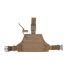 ACM Tactical MOLLE Drop Leg Panel Platform 2.0 - TAN