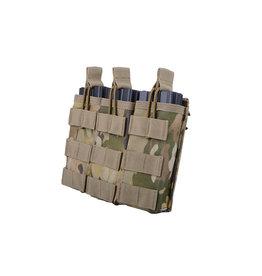 ACM Tactical Triple M4 / M16 Shingle Magazine Pouch - MultiCam
