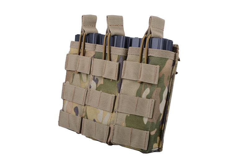 ACM Tactical 3-fach M4/M16 Shingle Magazintasche - MultiCam