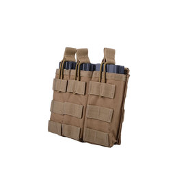 ACM Tactical Triple M4 / M16 Shingle Magazine Pouch - TAN