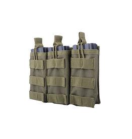 ACM Tactical Pochette à revues Triple M4 / M16 - OD