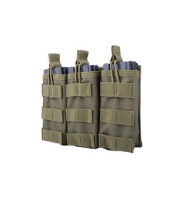 ACM Tactical Triple M4 / M16 Shingle Magazine Pouch - OD