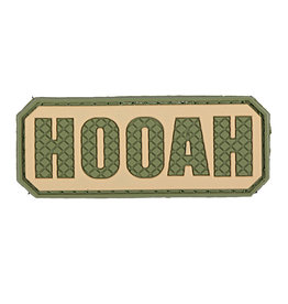 ACM Tactical 3D Rubber Patch - Hooah - OD