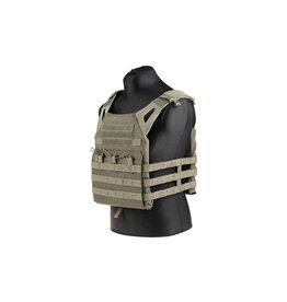 ACM Tactical Porte-plaque de saut tactique pour gilet - OD