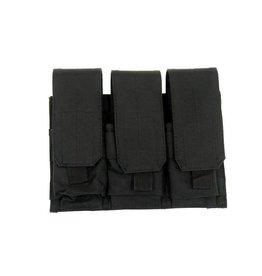 ACM Tactical 3-fold magazine pouch M4 / M16 - BK
