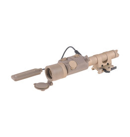 FMA Green laser glare mount with remote switch - TAN