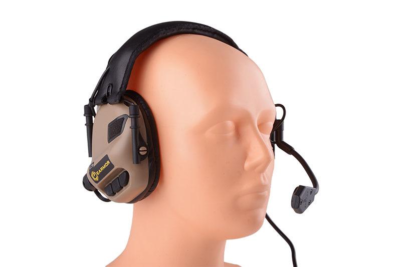 Opsmen Earmor M32 active hearing protection - TAN