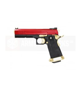 Armorer Works AW-HX1004 GBB - black / red / gold