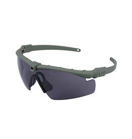 Ultimate Tactical Shooting Brille - OD/ Smoke Lens