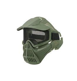Ultimate Tactical Vollgesichtschutzmaske Typ Guardian V1 - OD