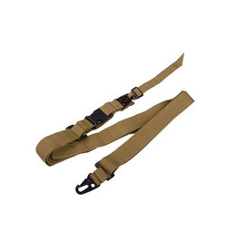 Ultimate Tactical 3 point rifle sling - TAN