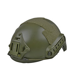 Ultimate Tactical Helm Typ X-Shield FAST MH - OD