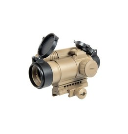 Aim-O Red/Green Dot Sight with Laser - TAN