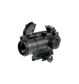Aim-O Red/Green Dot Sight mit Laser - BK