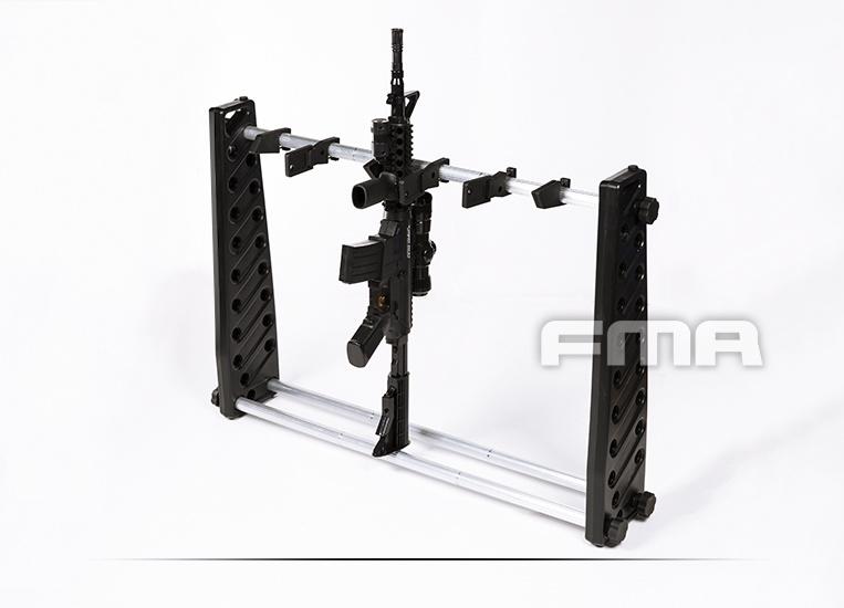 FMA Gun rack for 6 rifles - 75 cm - BK