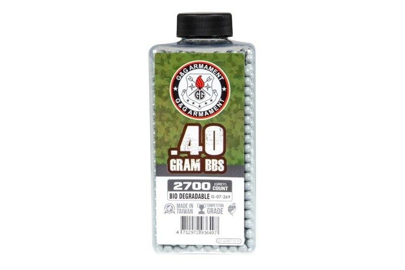 G&G 0,40 g BIO BB - 2 700 pièces - gris