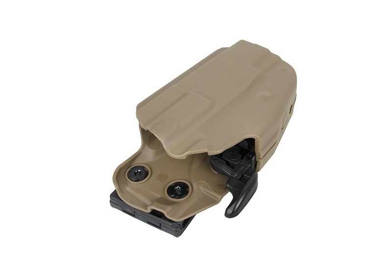 TMC 5X79 Compact Polymer Universal Holster - TAN