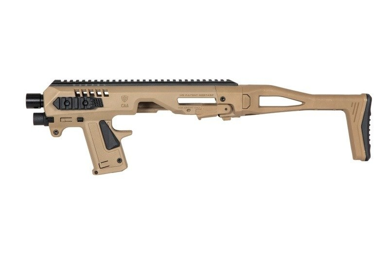 CAA Tactical Micro Roni for Glock Airsoft G17/18C/22/31 series - TAN