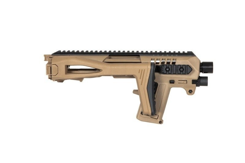 CAA Tactical Micro Roni pour Glock Airsoft G17/18C/22/31 series - TAN