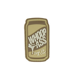 ACM Tactical 3D Rubber Patch - Can of Whoop Ass - TAN