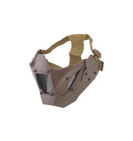 Ultimate Tactical Mesh protective mask for FAST helmets - TAN