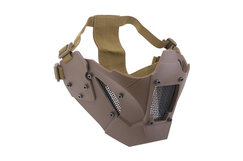 Ultimate Tactical Masque de protection en mesh pour casques FAST - TAN