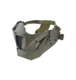 Ultimate Tactical Mesh protective mask for FAST helmets - OD