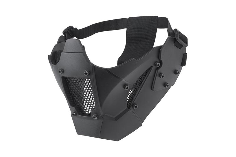 Ultimate Tactical Mesh protective mask for FAST helmets - BK