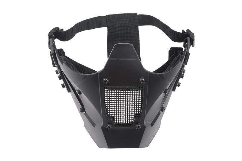 Ultimate Tactical Masque de protection en mesh pour casques FAST - BK