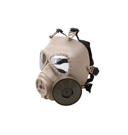 Ultimate Tactical Taktische ABC Gasmaske mit Ventilator- TAN